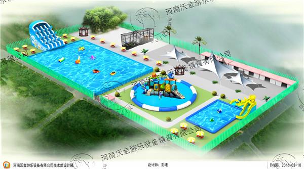 移动游泳池