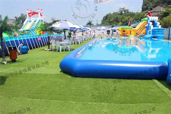 儿童水上乐园-四川泸州移动水上乐园展示-移动水上